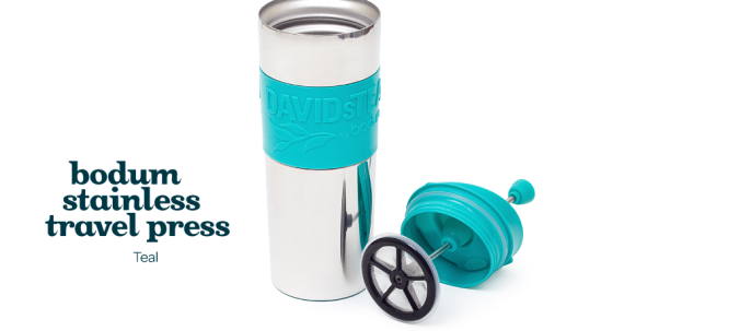 Bodum travel tea mug @ DavidsTea