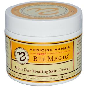 Medicine Mama's Sweet Bee Magic...working wonders on chapped skin
