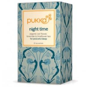 Pukka night time tea...organic, yummy, makes you zzzz