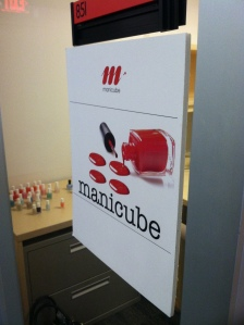 Manicube set up shop on the 8th floor @ Digitas