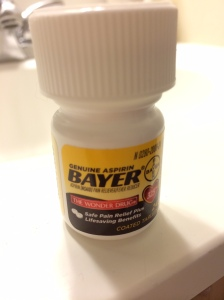 I use Bayer Aspirin for the paste - this is a mini bottle - less than $5 @ the pharmacy. Make sure to buy the TABLETS