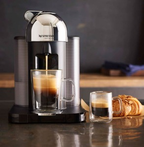 Nespresso Vertuoline Coffee and Espresso maker - the ultimate caffiene machine