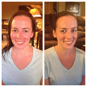 The Before & After shots! Ashley, Whit, Jules, and Shannon <3