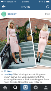 another cute look from the Boutikey Insta account
