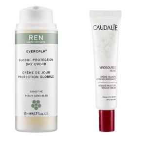 2 favorite winter skincare products: 1> REN Gentle Cleansing Milk  2> Caudalie Moisture Rescue Cream